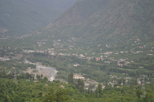 View from Naggar castle near Manali