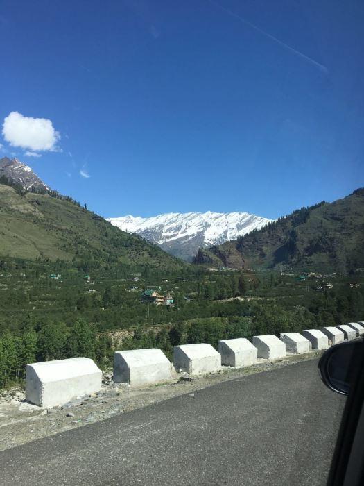 Road to Rohtang, near Manali