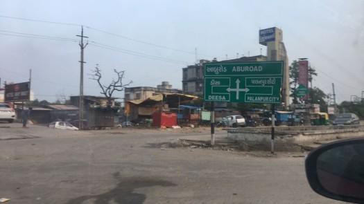 Bangalore to Gurgaon: road to Abu Road