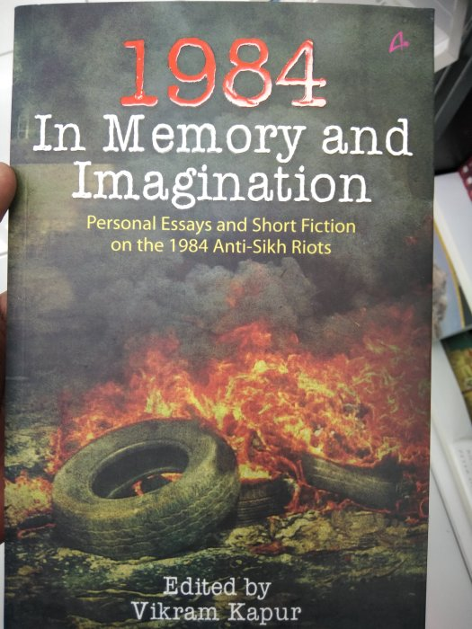 Book on 1984 Sikh riots