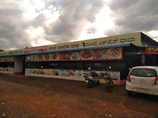 Mumbai express dhaba near Belgaum