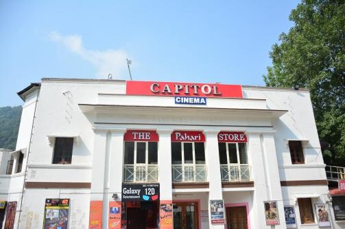 Capitol Cinema, a landmark in Nainital