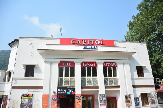 Capitol Cinema, a landmark in Nainital