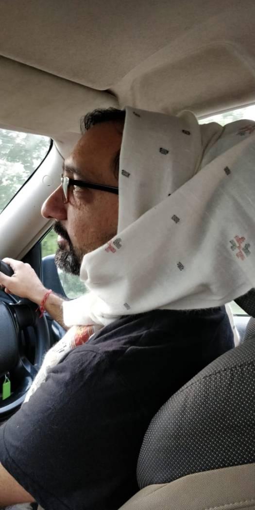 Chilled AC on the way to Munsiyari