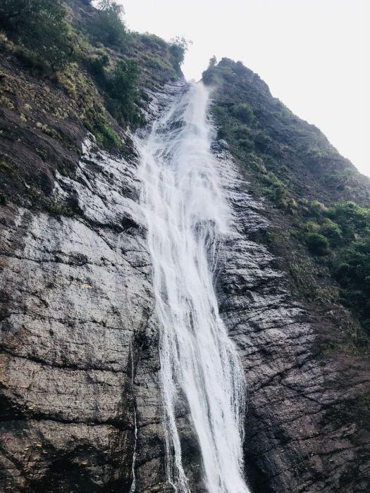Under Birthi Falls, Munsiyari