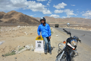 Life isn't a matter of milestones, but moments; Ladakh in 2017
