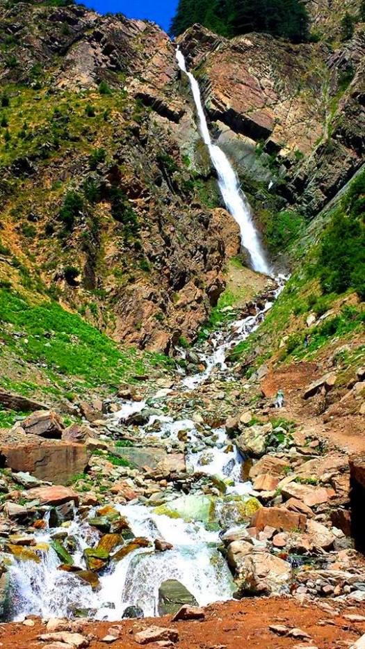 Matlitan waterfalls, Pakistan