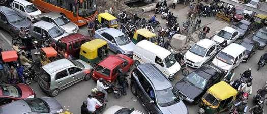 Traffic indiscipline