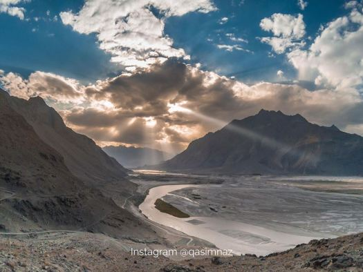 shigar view point