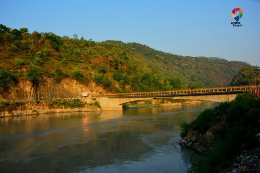 Tattapani bridge over river Sutlej