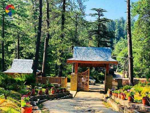 Craignano Nature Park entry at Mashobra