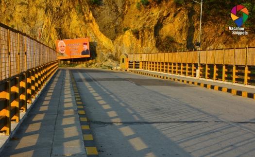 Bridge over river Sutlej